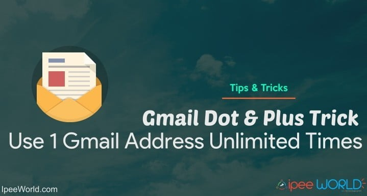 Gmail Dot Trick