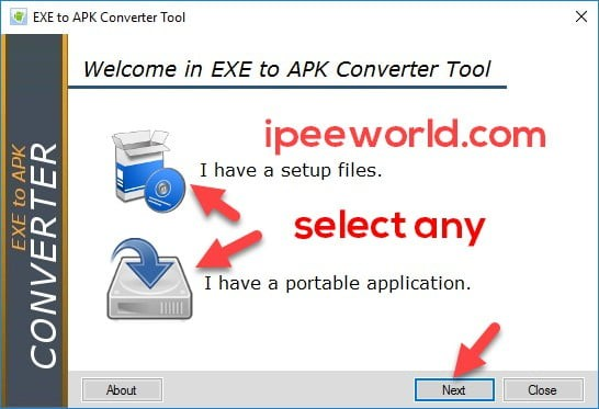 EXE To APK File Converter Portable