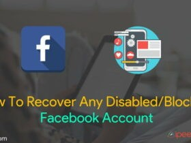 Recover Any Disabled or Blocked Facebook Account