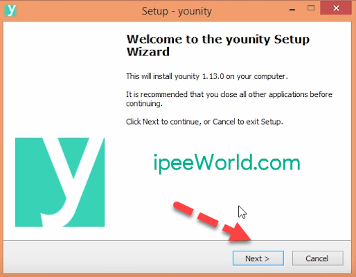 Install Younity on PC