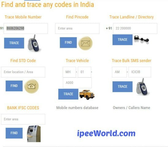 Trace Mobile Number With FindAndTrace