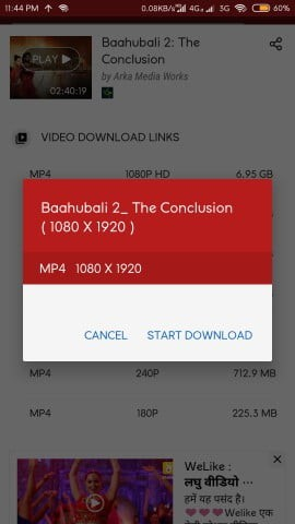 hotstar downloader for android
