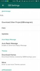 Install Themes in GBWhatsApp