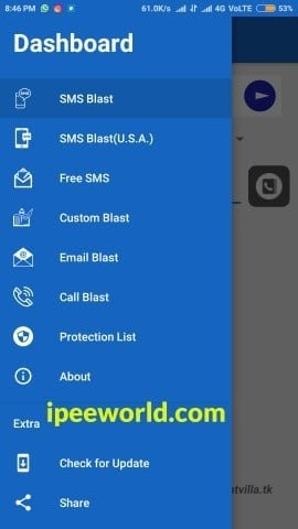 SMS Flooder App for Android