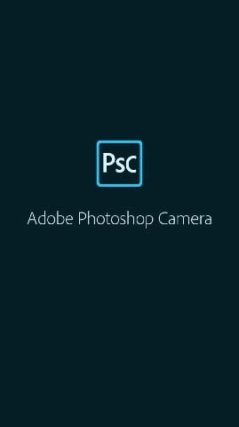 open adobe photoshop camera
