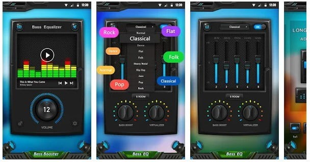 audio equalizer and booster