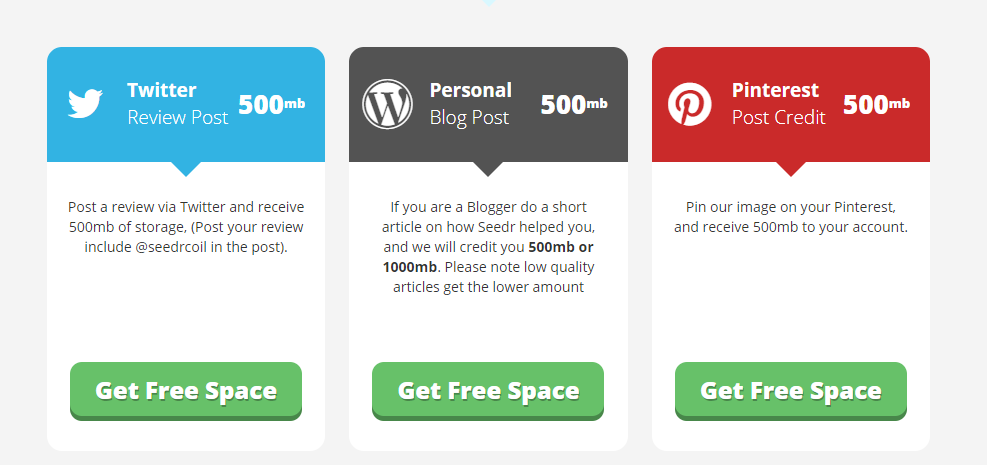 get free 5gb space on seedr free account
