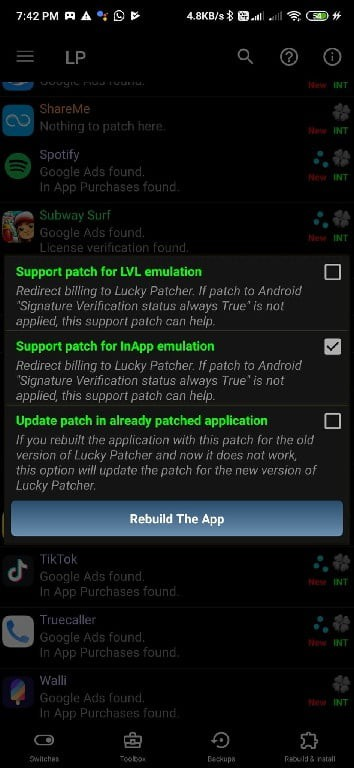 hack in app purchases lucky patcher