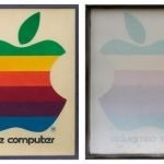 vintage apple retail sign