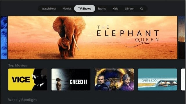 apple tv makes some shows free