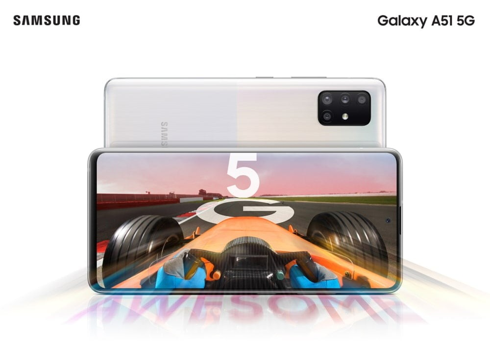 galaxy 51 5g specifications