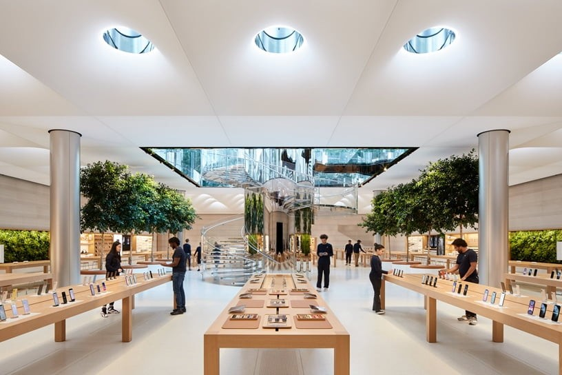 apple to open apple stores in the us gradually