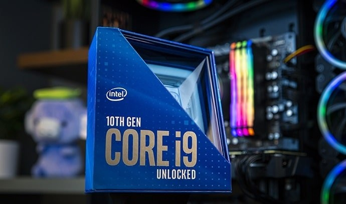 intel 10th gen desktop cpus