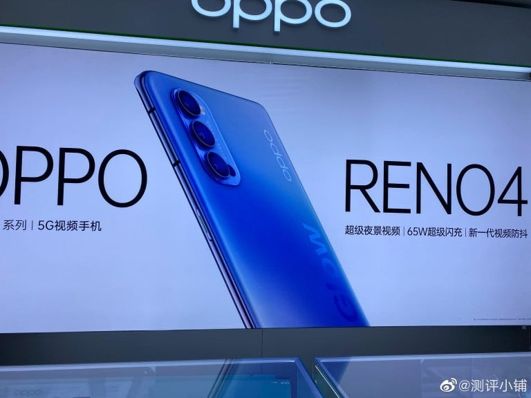 Oppo Reno Leaked Hand on Image