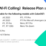 Oppo phones getting VoWiFi feature