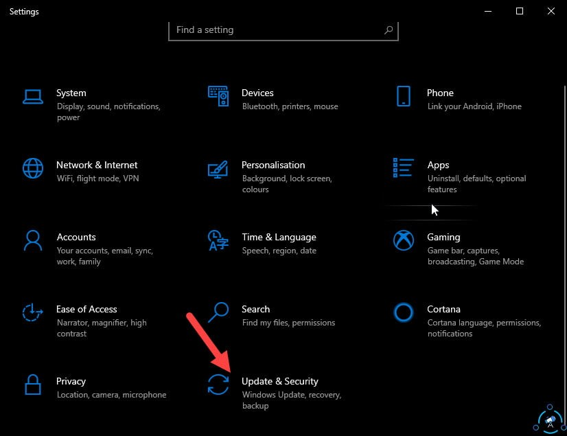 Windows 10 updates and security