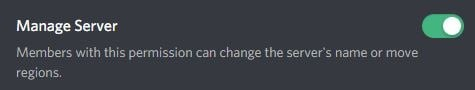 manage discord server access