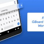 fix gboard stopped working