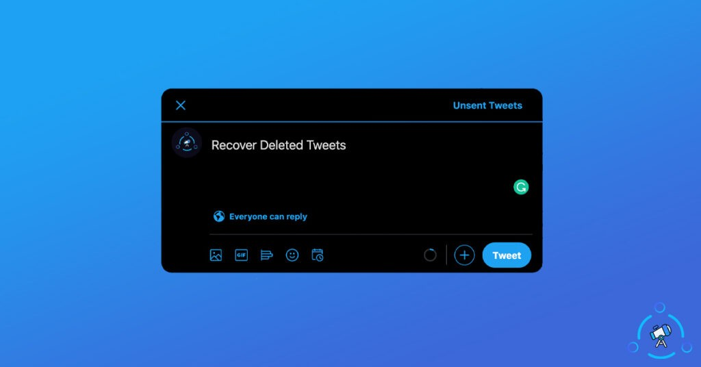Recover Deleted Tweets
