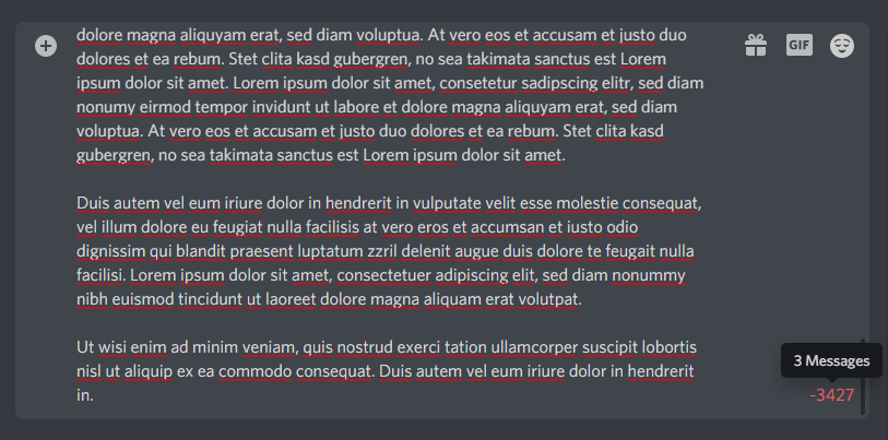 Send Large Messages on Discord