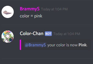 Color Chan Bot for Discord